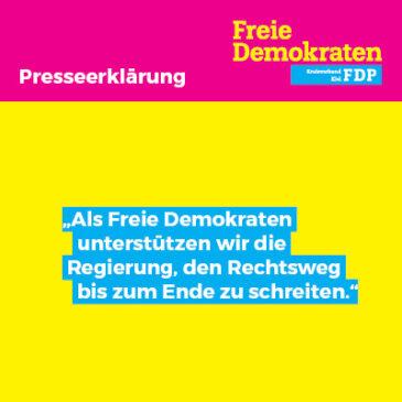 Die FDP Kiel bezieht Stellung zum jüngsten OVG Urteil bezüglich des Luftreinehalteplans Kiel