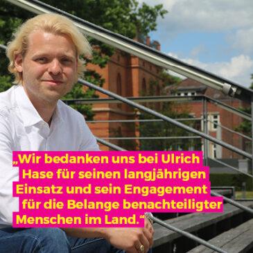 Herzlichen Glückwunsch zum 25. Dienstjubiläum, Ulrich Hase