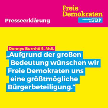 Größtmögliche Bürgerbeteiligung bei der Zukunft der Kiellinie durch Bürgerentscheid schaffen!