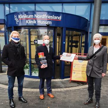 Bericht: Einkauf für die Pflegekräfte in Husum